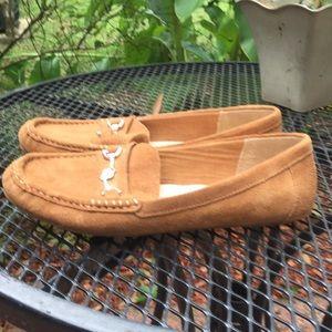 Isaac Mizrahi Shoes - Isaac Mizarahi Live camel leather upper 8.5 loafer